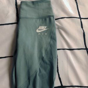 Nike air leggings teal blue